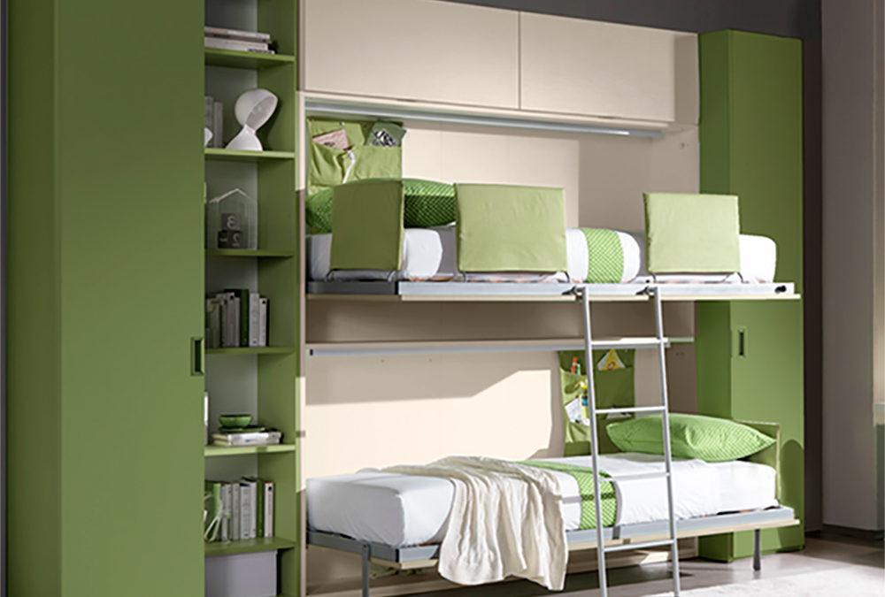 La comodità dei mobili trasformabili salvaspazio Notti Blu