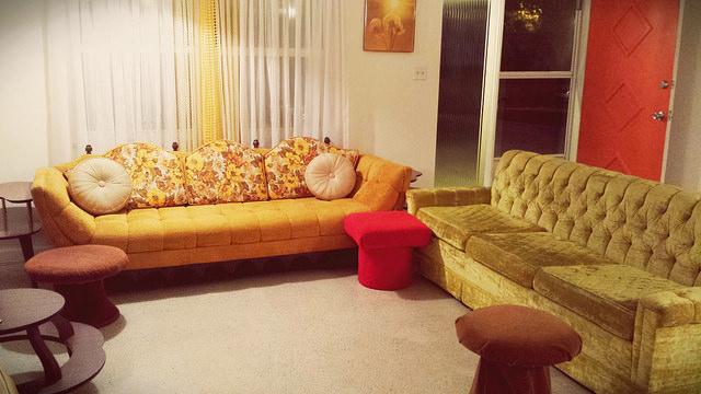 5 idee per un salotto stile Vintage