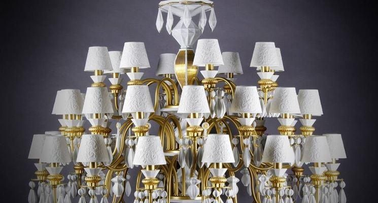 Lampadari classici per salone: modelli e prezzi