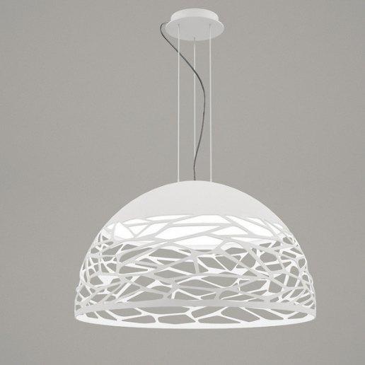 La luce del lampadario crea l'atmosfera giusta in ogni camera di casa