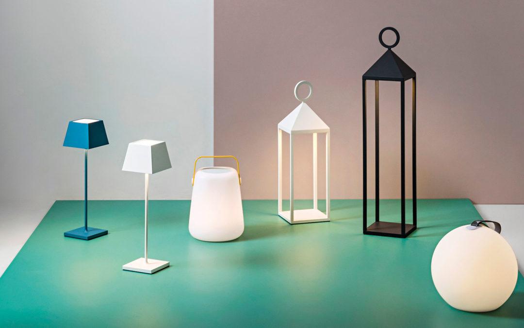 Lampade da tavolo senza filo: oggetti di design funzionali