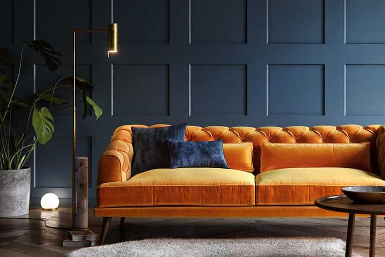 Trend nuovi tessuti per i divani per il 2021